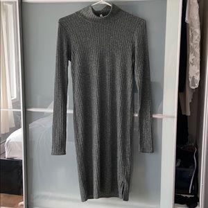 Aritzia turtleneck sweater dress
